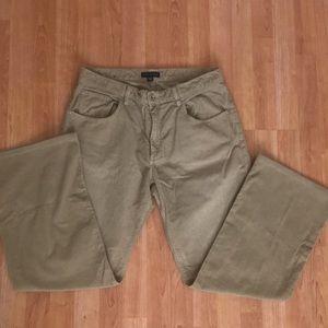 Men's banana Republic corduroy pants Sz 36/34